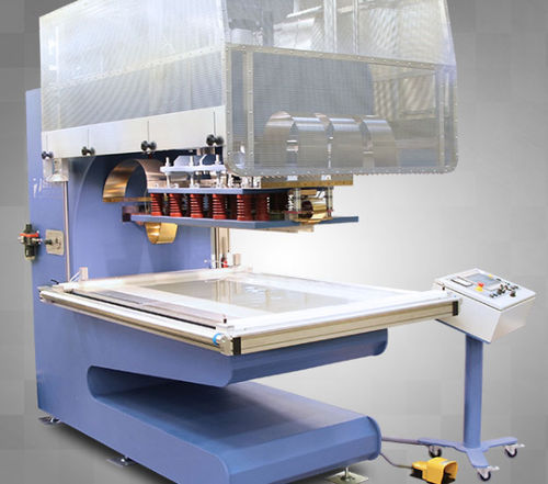 wedge welding machine / high-frequency / AC / PLC-controlled
