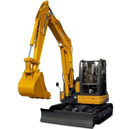 midi excavator / crawler / diesel / construction