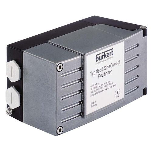 electropneumatic valve positioner / linear / digital / compact