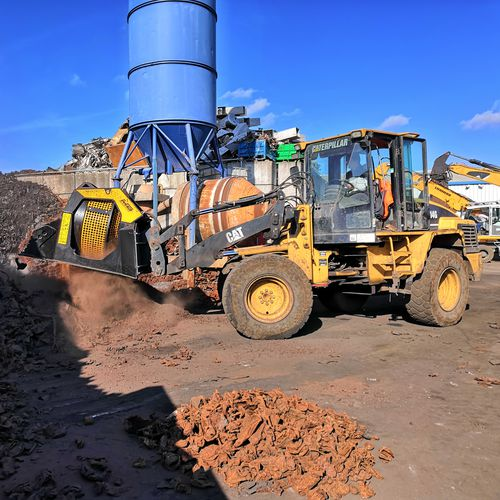 screening bucket - MB Crusher