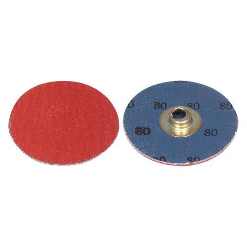ceramic abrasive disc / grinding / for stainless steel / for nickel