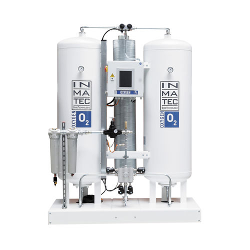 pure oxygen gas generator - INMATEC GaseTechnologie