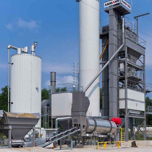 discontinuous asphalt plant