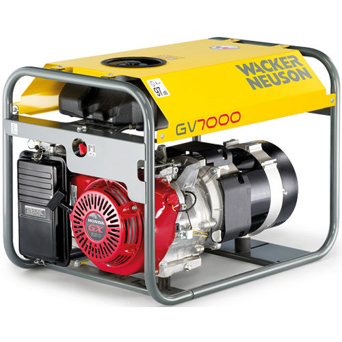 three-phase generator set / gasoline engine / portable