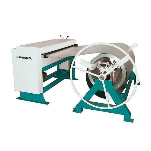 sheet metal straightener-feeder / for plasma cutting machines