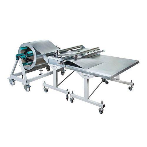 metal cutting line / knife / sheet metal / manually-controlled