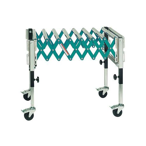 run-out roller table