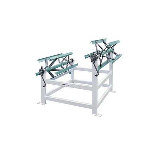 hand crank decoiler / for sheet metal / sheet / double