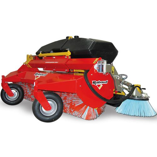 tractor sweeper / hydraulic / compact / outdoor