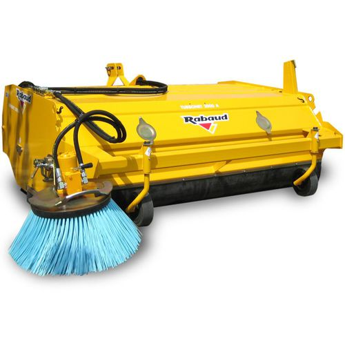 tractor sweeper / hydraulic / outdoor