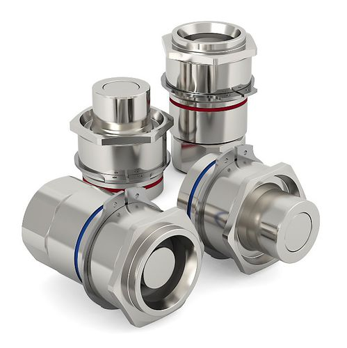 fluid coupling / for thermal analyzers