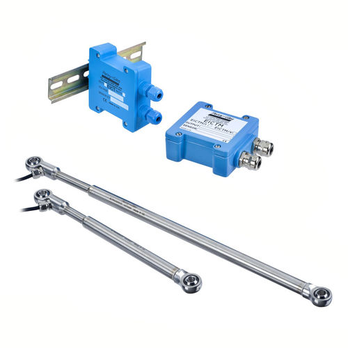 linear displacement sensor / non-contact / inductive / with analog output