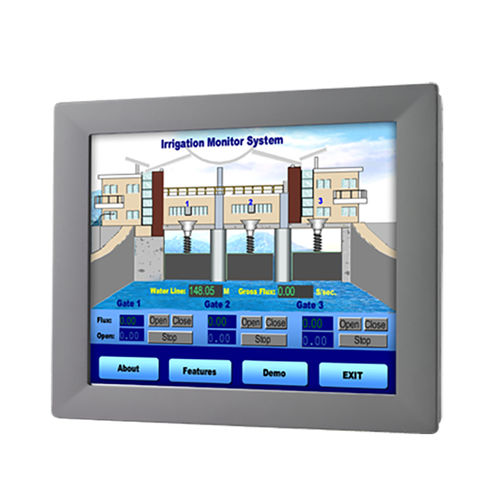LCD monitor / resistive touch screen / LED backlight / 12