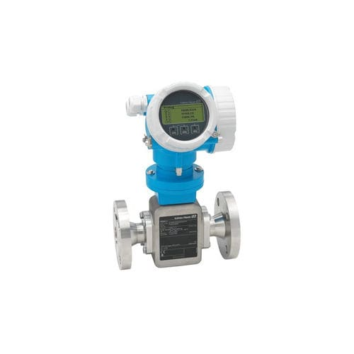 electromagnetic flow meter / 2-wire / for liquids / compact