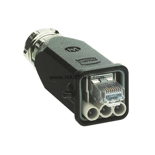data connector / electrical power supply / Ethernet / RJ45