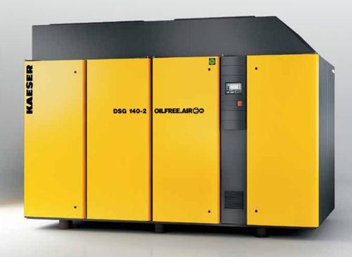air compressor / stationary / electrically-powered / screw