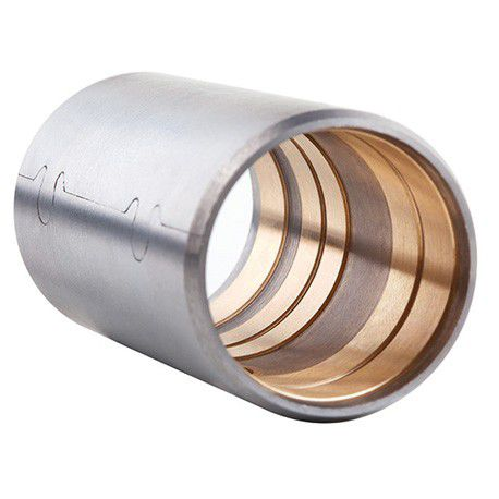 bimetallic plain bearing