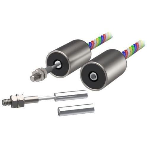 linear displacement sensor / LVDT / analog / rugged