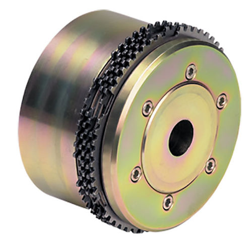 multiple-disc clutch / hydraulic / flange-mounted