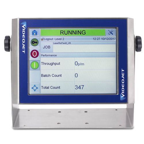control with touchscreen