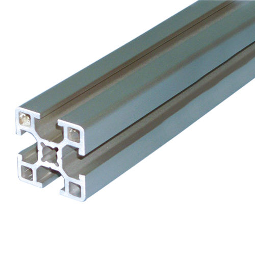 aluminum profile / grooved / for housings