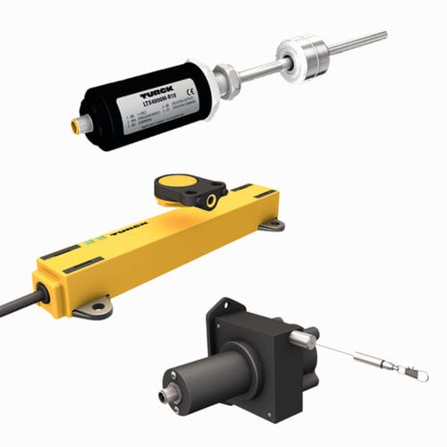 linear position sensor / contactless / magnetostrictive / inductive