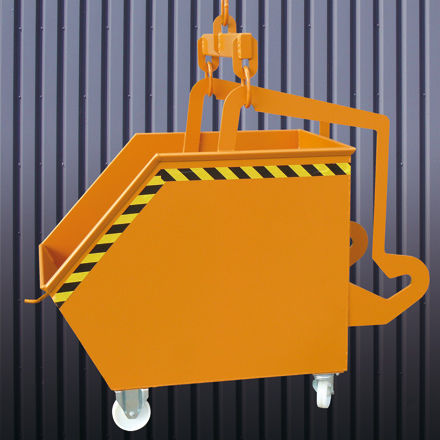 metal waste container