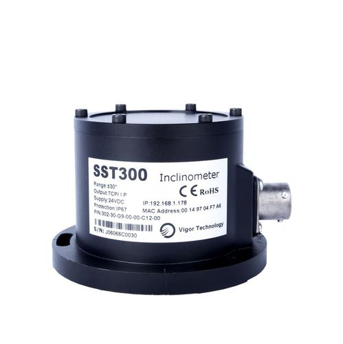 2-axis inclinometer / RS-485 / RS-232 / CAN