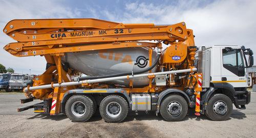 concrete truck-mixer concrete pump - CIFA S.p.A