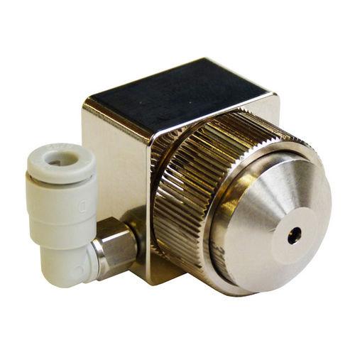 spray nozzle / for liquids / pneumatic / control
