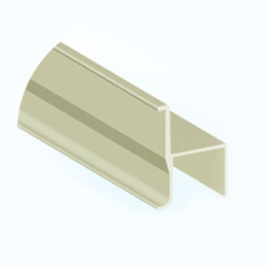 H-shaped profile / GRP / guide / for electrical insulation