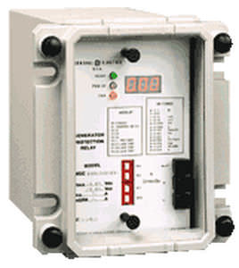 current protection relay / phase / digital / three-phase
