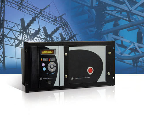voltage protection relay / configurable / three-phase / panel-mount