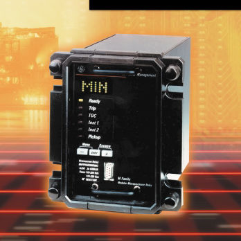 voltage protection relay / panel-mount / digital / programmable