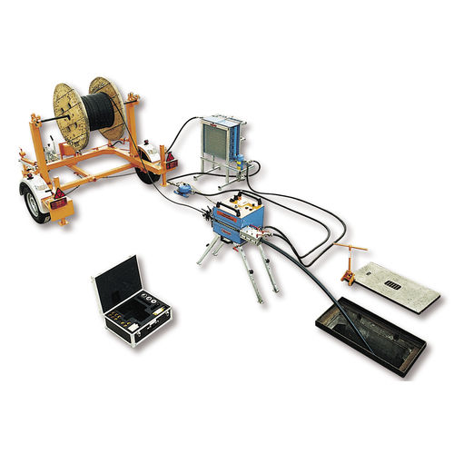 cable blowing machine