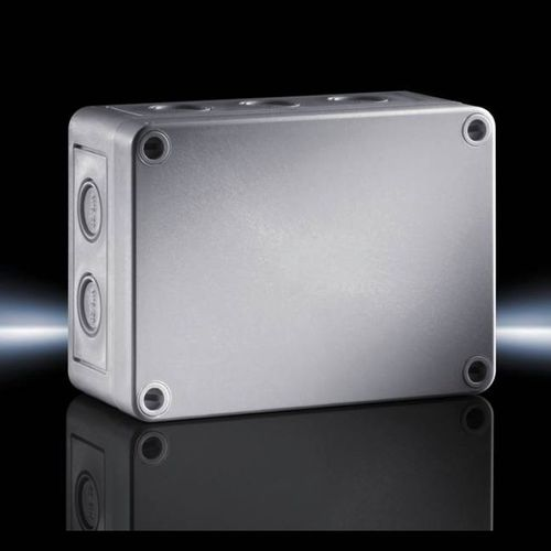 enclosure with metric knockouts / small / rectangular / polycarbonate