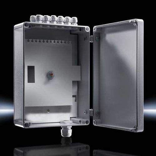 distribution enclosure / small-size / rectangular / polycarbonate