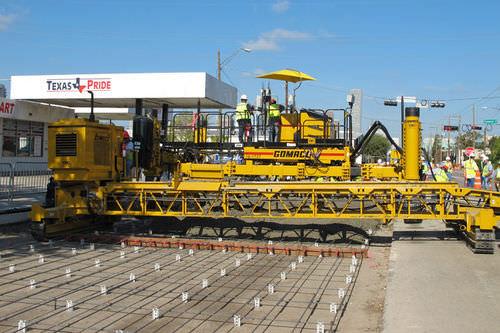 belt conveyor / construction / for concrete / horizontal