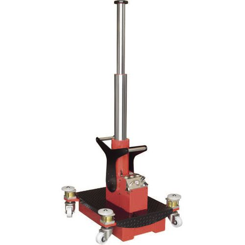 pit jack / hydraulic / for lifting applications / for heavy-duty applications