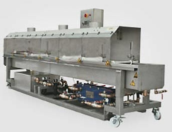 strand cooling bath / polymer / for extrusion