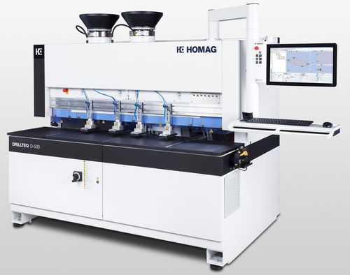 CNC drilling machine / for wood / vertical / high-speed