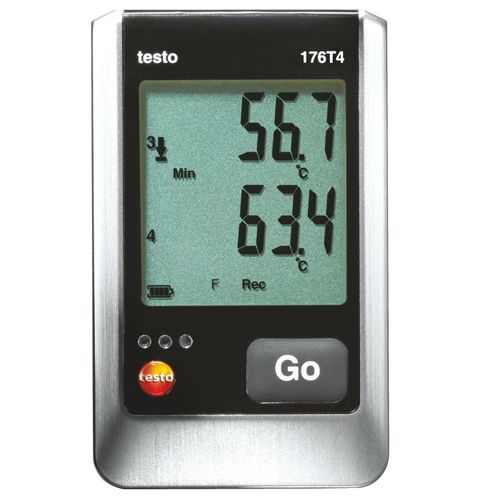 temperature data-logger / USB / with LCD display / battery-powered