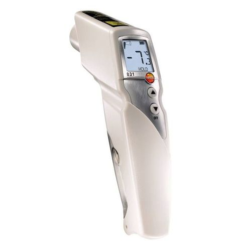 infrared thermometer / with LCD display / hand-held / non-contact