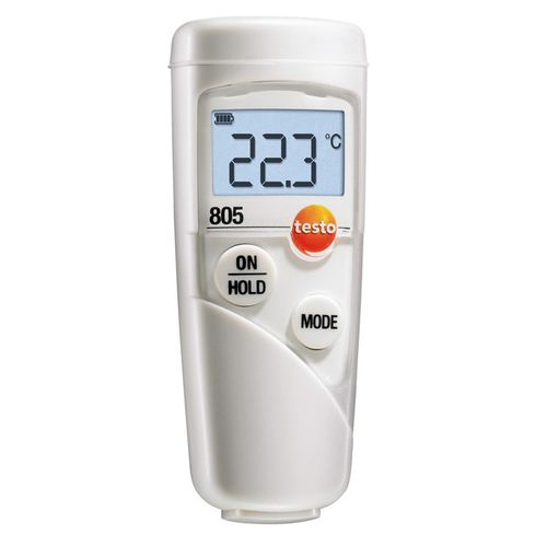 infrared thermometer / digital / pocket / compact