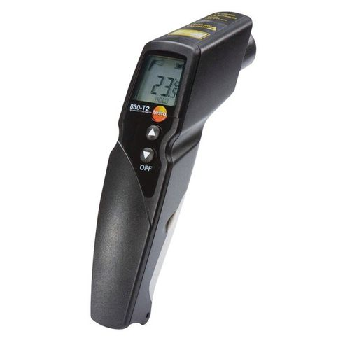 infrared thermometer / with LCD display / hand-held / surface