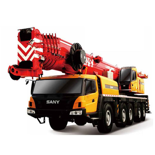 truck-mounted crane / telescopic / all-terrain / diesel-powered