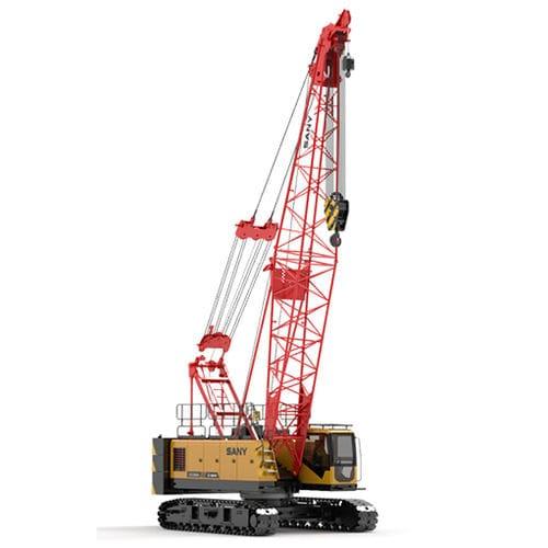 crawler crane / boom / lattice / construction