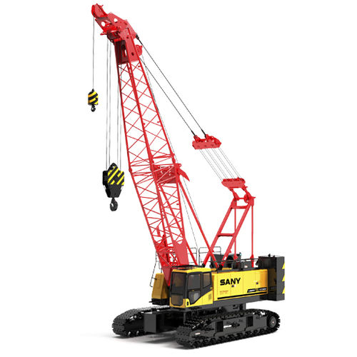 crawler crane / lattice / boom / for construction