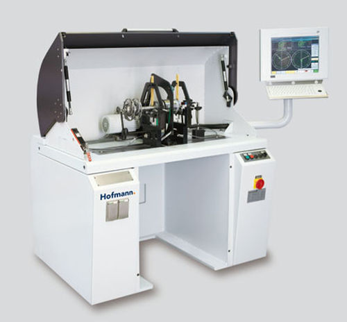 horizontal balancing machine / hard bearing / for cutting tools / high-accuracy