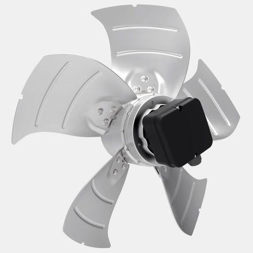 wall-mounted fan / axial / ventilation / low-noise